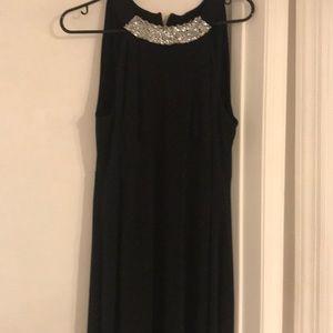 Alfani Woman Black Sleeveless Dress Size 1X